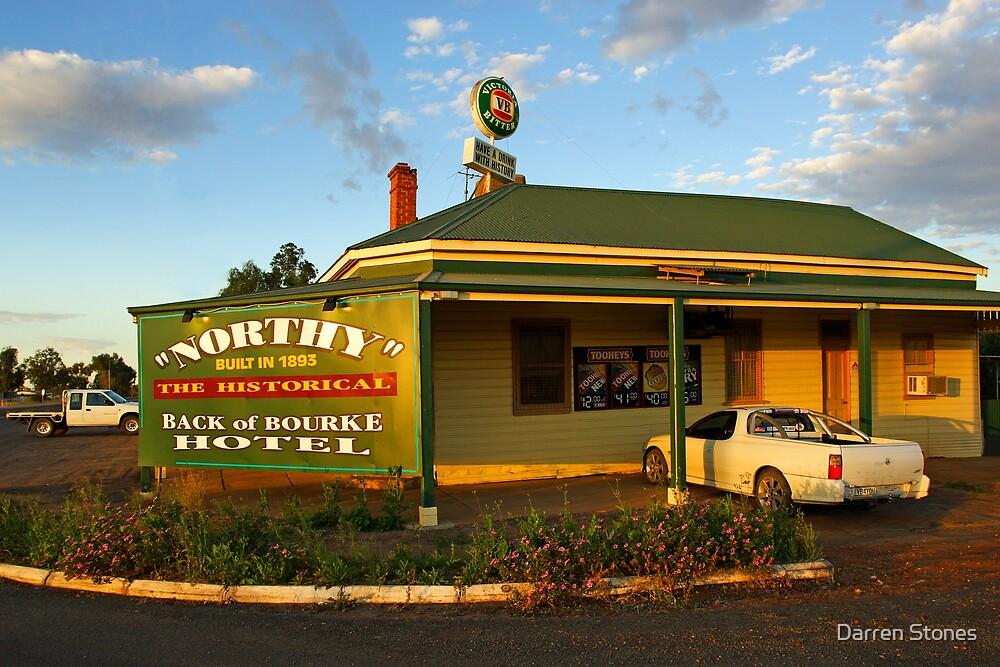 Back of Bourke Hotel by Darren Stones