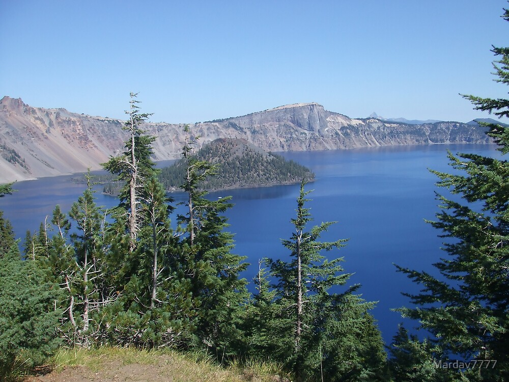Crater Lake by Mardav7777