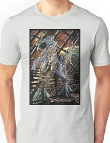 Robot Angel Painting 005 Unisex T-Shirt