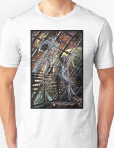 Robot Angel Painting 005 Unisex T-Shirt