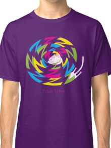 Psychedelic sleeping cat Classic T-Shirt