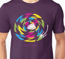 Psychedelic sleeping cat Unisex T-Shirt