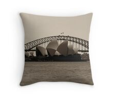 Icons Throw Pillow
