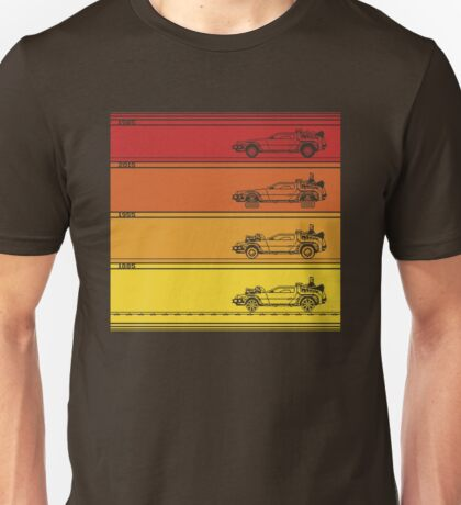 Retro Back To The Future Unisex T-Shirt