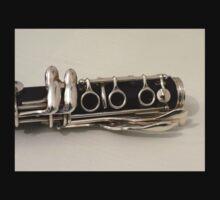 Clarinet - 3 Ring Keys and 4 Side Keys T-Shirt