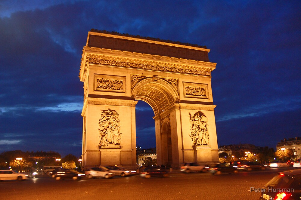 Arc De Triomphe by Peter Horsman