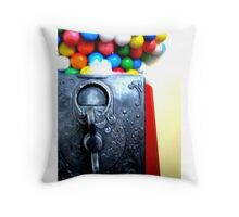 Penny Slots Throw Pillow