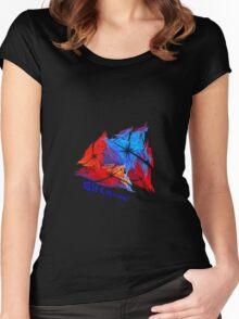 Shards! Women's Fitted Scoop T-Shirt