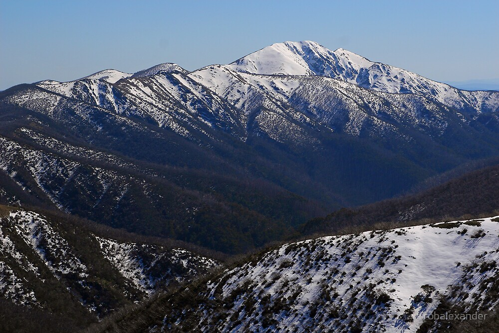 Mt Feathertop. by robalexander