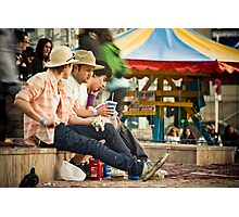 Fast times Photographic Print