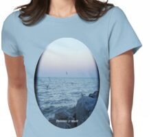 TSHIRT PHOTO SEAGULLS Womens Fitted T-Shirt