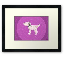 Star Pup Framed Print
