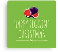 A Figgy Christmas Canvas Print