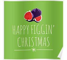 A Figgy Christmas Poster