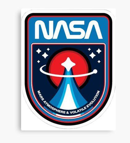 NASA - Mars mission Canvas Print