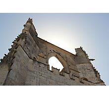 An Ancient Cathedral - St Martin en Ré, France. Photographic Print