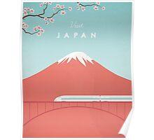 Vintage Japan Travel Poster Poster