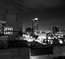 Jesus Saves by Robert Larson