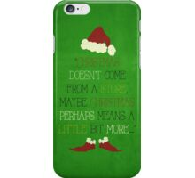 Christmas Grinch iPhone Case/Skin