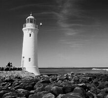 Lighthouse, Port Fairy by John  Cuthbertson | www.johncuthbertson.com