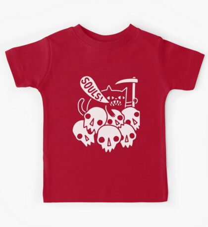 Death cat Kids Tee