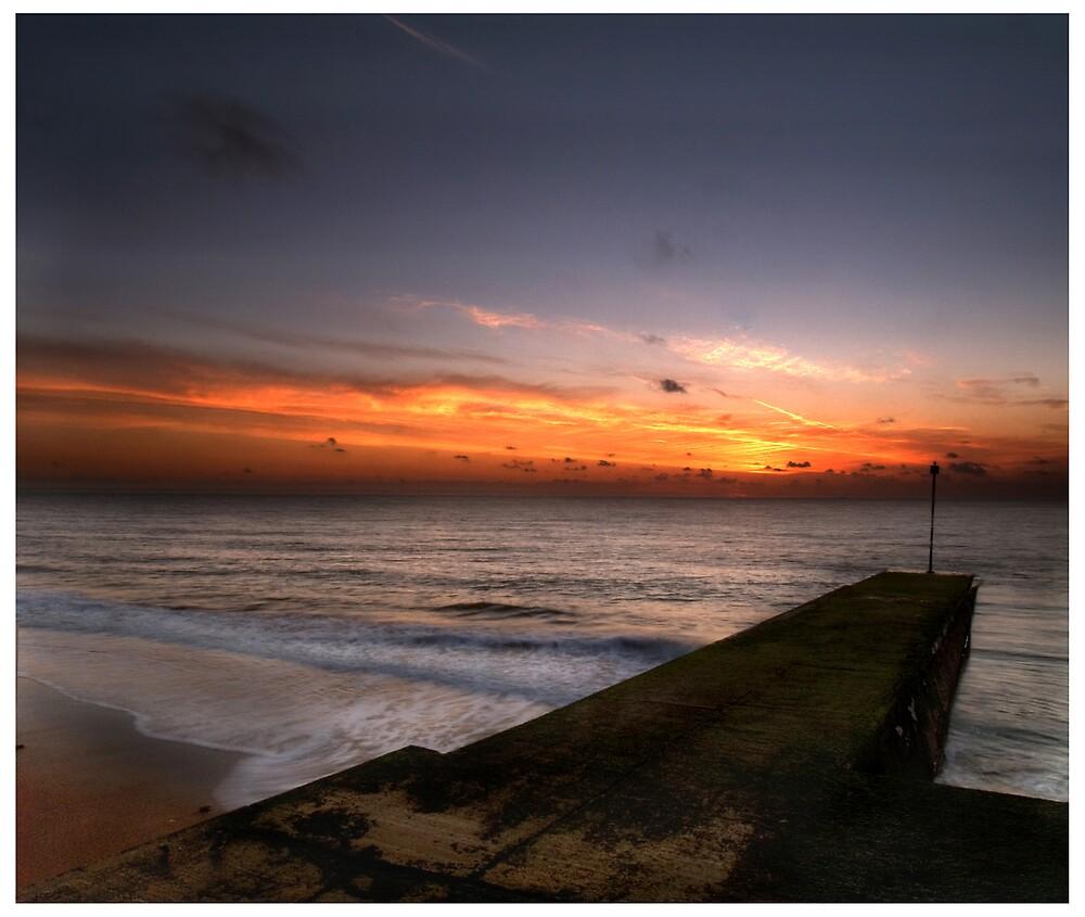 Jetty sunrise by Paul Tremble