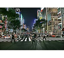 Tokyo - Ginza Crossing Photographic Print