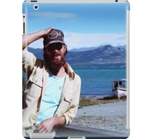 Scott on the Alaskan Canadian Highway iPad Case/Skin