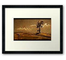 The Boonah Road Framed Print