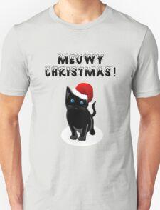santa kitten T-Shirt