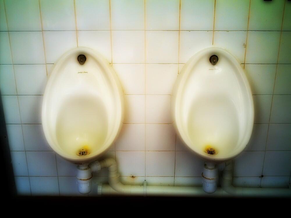 Urinals by Stephen Jackson