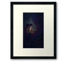 A Brief Flicker of Light Framed Print
