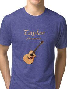 Taylor Acoustic Guitar Tri-blend T-Shirt