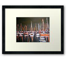 Manly Boat Harbour  Framed Print