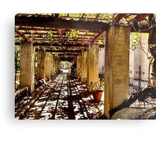 San Gabriel Mission Arches Metal Print