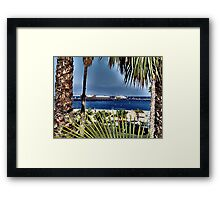 Santa Barbara Harbor Framed Print