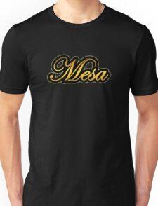 Mesa  Amp Vintage Gold Unisex T-Shirt