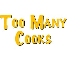 Too Many Cooks Logo by 4xUlt