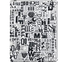 Alphabet Soup iPad Case/Skin