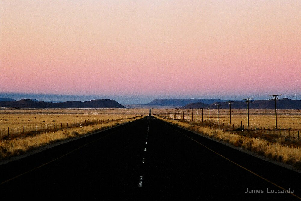 ..road to Pofadder.. by James  Luccarda