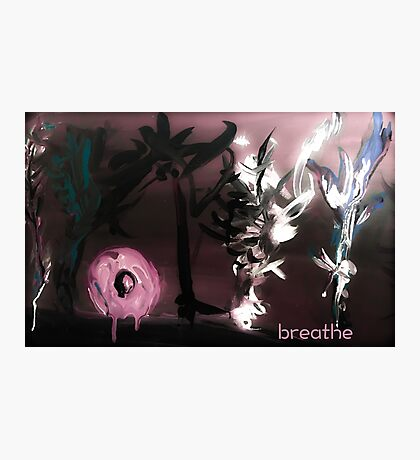 Ecology Breathing Photographic Print