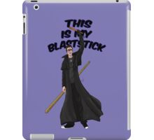 This is my blast-stick iPad Case/Skin