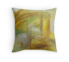 fallen trees Throw Pillow