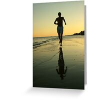 GOLDEN MILE Greeting Card