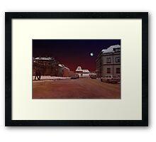 The Old Town in Vilnius Framed Print