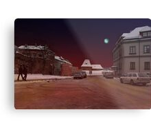 The Old Town in Vilnius Metal Print