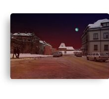 The Old Town in Vilnius Canvas Print