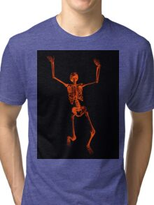 Skeleton Tri-blend T-Shirt