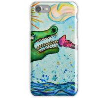 The Chameleon Wins iPhone Case/Skin