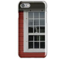Old Cider Mill Window with Candle  iPhone Case/Skin